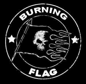 Crashing and Burning! - Burning Flag