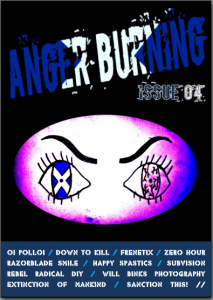 Anger Burning Issue 4 - July 2017