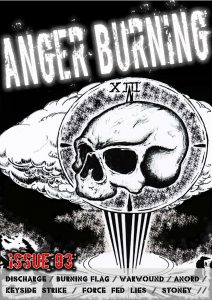 Anger Burning Issue 3 - November 2016