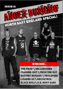 Anger Burning Issue 1 - April 2015
